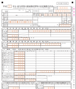 給与所得の源泉徴収票等の法定調書合計表を提出するにあたって、給与所得の源泉徴収票を税務署に提出する基準はどのようになっているのでしょうか。