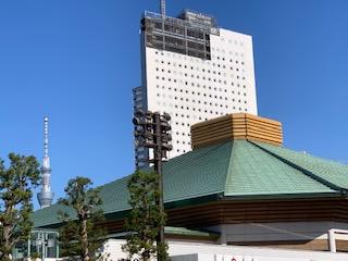 墨田区両国の毎年の有名イベントである「ひがしんビジネスフェア」は、今年は両国国技館で開催され、非日常の時間を有意義に過ごすことが出来ました