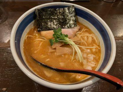 三密に気を付けながら、久々にお気に入りの江東区門前仲町にあるラーメン屋「双麺」に行ってきました