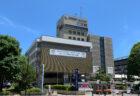 江東区防災センターに東京2020オリンピック金メダリスト堀米雄斗先週の祝勝垂れ幕が掲げられています