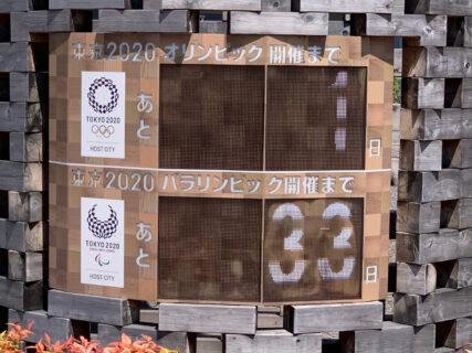 東京2020オリンピック開催日前日のランは江東区横十間川親水公園のコースを走りました